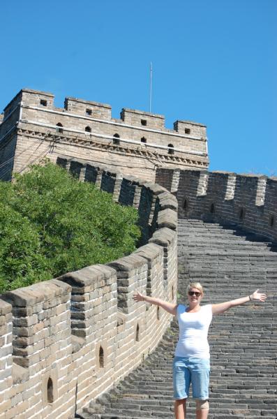 Alleen met de muur!