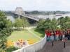 Overzichts foto met de waalbrug